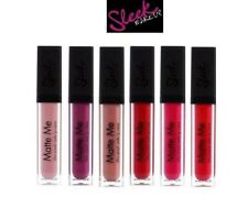 Sleek Make Up - Ultra Smooth Matte Me Lip Gloss Cream Lipstick shades