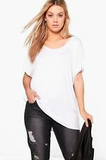 Boohoo Plus Claire Oversized Tee para Mujer