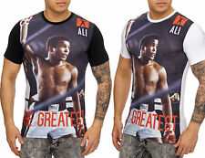 Ali Box Greatest CHAMPION Memorial Camisa de manga corta Clubwear CAMISETA