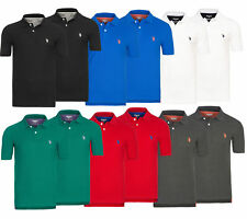U.S. POLO ASSN. Shirt Polohemd Herren Poloshirt Regular Fit Pikee 2er Pack