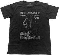 BOB MARLEY Live In Hawaii 1979 VINTAGE T-SHIRT OFFICIAL MERCHANDISE