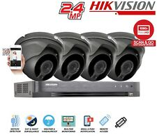 Hikvision Prolux DVR 1080P 2.4MP SONY Turret CCTV Outdoor Night Vision Security
