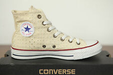 NUOVO ALL STAR CONVERSE Chucks HI Eyelet NATURALE 542538c High Top Sneaker Retro