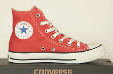 NUOVO ALL STAR CONVERSE Chucks 136815c CT HI CAN RED SCARPE SNEAKER 37 TGL UK