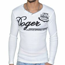 DOGER WEAR  PULL COL V  HOMME  SD 64  BLANC NEUF GRADE A