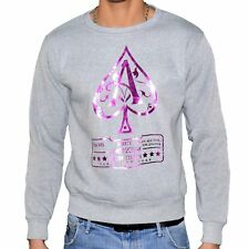MONSTERPIECE - SWEAT SHIRT - HOMME - AS JAY Z - GRIS VIOLET NEUF