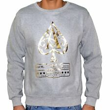 MONSTERPIECE - SWEAT SHIRT - HOMME - AS JAY Z - GRIS OR NEUF