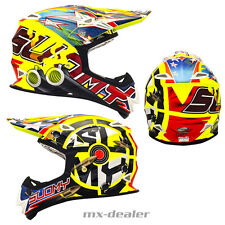 SUOMY Mr. Jump SHOTS AMARILLO CASCO CROSS MX Motocross 1000g S M L XL