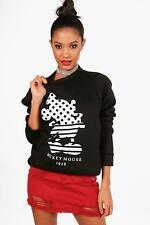 Boohoo Sweat Disney Mickey Mouse 1928 pour Femme