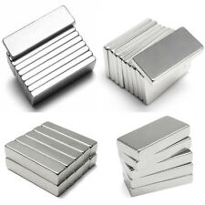 Rectangle Puissant Aimant Bloc Néodyme Magnets Neodymium Terres Rares Magnetique