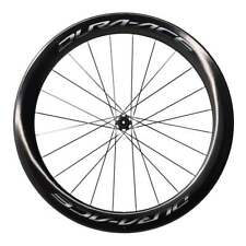 Shimano WH-9100 C60 Dura Ace 60mm Carbon Road Bike Wheels - Clincher or Tubular