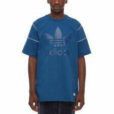 adidas ORIGINALS FREIZEIT T SHIRT BLUE TREFOIL XS S M L XL CREW NECK TOP MEN'S