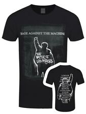 Rage Against the Machine Bola European Tour Men's Black RATM T-shirt