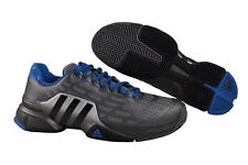 Adidas Barricade 2016 iron metallic black blue Tennisschuhe grau AF6795