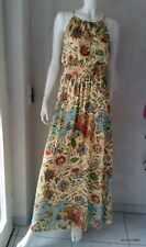 HALLHUBER Robe ROBE LONGUE MULTICOLORE TAILLE 38 NEUF