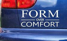 forme Over confortable BAS VOITURE STICKERS Anti-Chocs vitre SCENE Dub EURO jdm