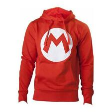 Nintendo - Red With M Logo In Front (Felpa Unisex Tg. S)