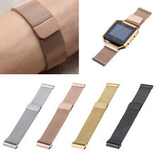 Large/Small Milanese Loop SS Metal Bracelet Strap Band For Fitbit Blaze Tracker