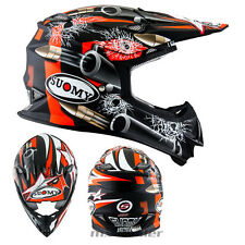 SUOMY Mr. Jump Bala M NEGRO CASCO CROSS Casco MX Motocross Cross 1000g S M L XL