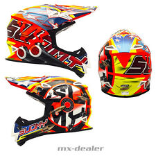 SUOMY Mr. Jump SHOTS NARANJA CASCO CROSS Casco MX Motocross Cross 1000g S M L XL