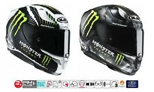 CASCO HJC RPHA 11 INTEGRALE IN CARBONIO FIBRA DI VETRO MONSTER ENERGY CAMO SAND