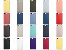 Funda compatible con iPhone 8 Plus y iPhone 7 Plus, carcasa silicone case