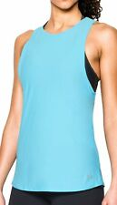 Under Armour CoolSwitch Womens Running Vest Tank Top - Blue