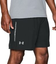 Under Armour CoolSwitch Run 2 In 1 Mens Running Shorts - Black