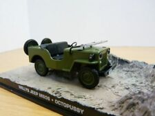 Diorama JEEP WILLYS James Bond Film OCTOPUSSY 1/43