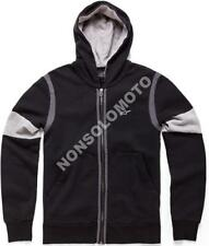 Felpa Fleece Pile Uomo Moto, Cross, Quad, Enduro Alpinestars Champ Nero