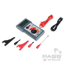 *NEW* Megger MIT230 Insulation and Continuity tester + Test Leads and Case / UK