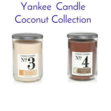 Yankee Candle Coconut Collection  Large Tumbler You Select from below  FREE P&P