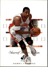 2001-02 SP Authentic Basketball Base Singles (Pick Your Cards)