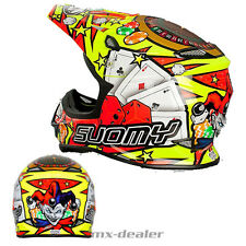 SUOMY Mr. Jump Jackpot AMARILLO CASCO CROSS MX Motocross 1000g S M L XL