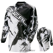 O'NEAL Element SHOCKER Negro Jersey Camiseta conductor MX Motocross MTB DH FR