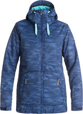 ROXY VALLEY HOODIE JACKET BOUNDING BLUE PRINT