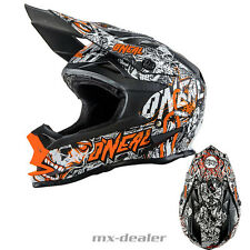 ONEAL 7Series MINACCIA OPACO Neon Orange Casco MX motocross cross S M L XL