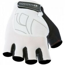 Madison Peloton Mens Mitt Cycling Glove White New RRP £24.98!!