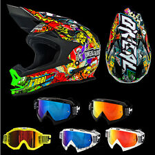 O'NEAL 7series EVO Crank Multi CASCO CROSS Casco MX Motocross HP7 GAFAS S M L XL