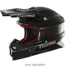LS2 LS 2 MX 456 Tuareg CASCO CROSS Casco MX Motocross S M L Xl Mate Negro