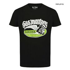 Official GMG T Shirt Gas Monkey Garage CIGAR Monkey Green Wings All Sizes
