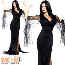 Immortal Soul Ladies Fancy Dress Halloween Vampire Womens Adults Costume Outfit
