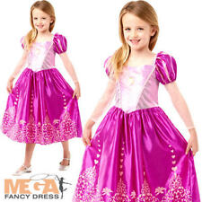 Rapunzel Gem Princess Girls Fancy Dress Disney tangled World Book Day Costume