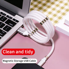 Luxury Stainless Steel iPhone 8pin Lightning USB Fast Charger Data Cable Lead 1m