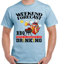 Weekend Forecast BBQ ' ING bere - T-shirt Uomo Barbecue Party Chef Cucina