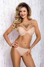 axami Calima v-7071 Set Push-up Reggiseno + perizoma Beige 65 70 75 80 85
