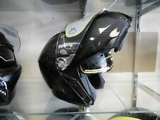 AGV SPORTS MODULAR LIGHT WEIGHT CARBON FLIP FRONT HELMET GLOSS MONO