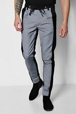 Boohoo Two Tone Tapered Trousers para Hombre