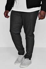 Boohoo Big And Tall Draw String Tapered Smart Trouser para Hombre