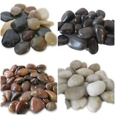 Polished River Pebbles Home Water Features Gardens Pools Borders Landscaping Art
